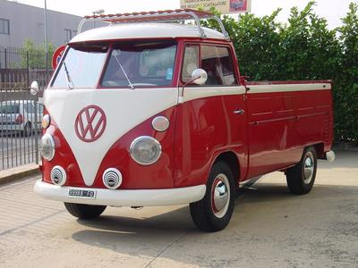 www.BRESCIACAR.it -VOLKSWAGEN BULLI PICK UP anno 1964
