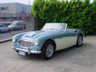 www.BRESCIACAR.it -AUSTIN HEALEY 100/6 BN4 anno 1957