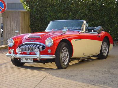 www.BRESCIACAR.it -AUSTIN HEALEY 3000 MK3 PHASE 1 anno 1964