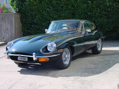 www.BRESCIACAR.it -JAGUAR E COUPE` 4200 anno 1969
