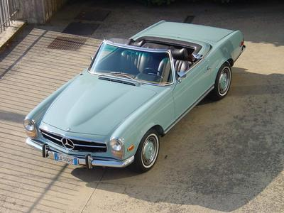 www.BRESCIACAR.it -MERCEDES 280 SL anno 1969