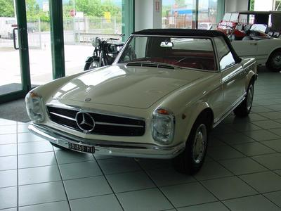 www.BRESCIACAR.it -MERCEDES 250 SL anno 1967