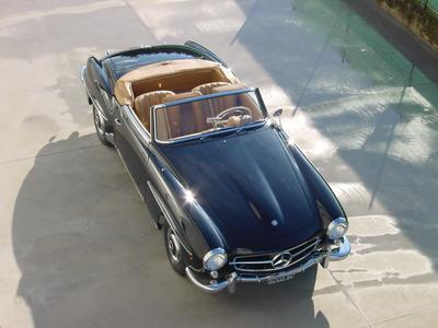 www.BRESCIACAR.it -MERCEDES 190 SL anno 1959