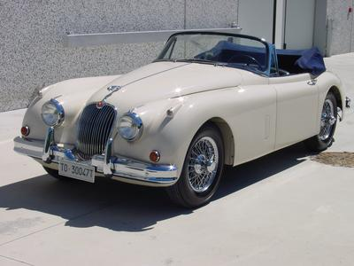 www.BRESCIACAR.it -JAGUAR XK150 ROADSTER anno 1959