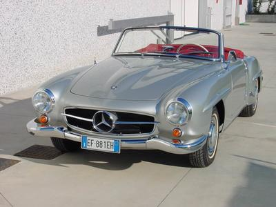 www.BRESCIACAR.it -MERCEDES BENZ 190 SL anno 1957