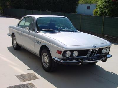 www.BRESCIACAR.it -BMW 2800 CS anno 1971