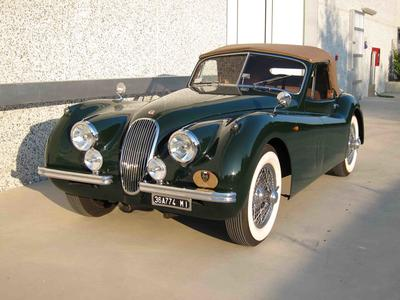 www.BRESCIACAR.it -JAGUAR XK 120 Drop Head anno 1954