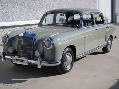 www.BRESCIACAR.it -MERCEDES BENZ 220 anno 1955