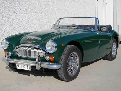 www.BRESCIACAR.it -AUSTIN HEALEY 3000 MK III BJ8 PHASE 2 anno 1965