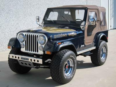 www.BRESCIACAR.it -JEEP CJ-5 GOLDEN EAGLE V8 anno 1980