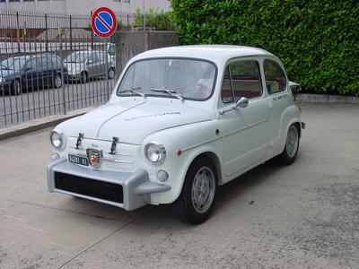 www.BRESCIACAR.it -ABARTH 850 TC NURBURGRING anno 1962