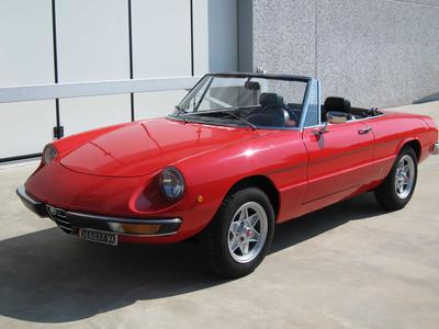 www.BRESCIACAR.it -ALFA ROMEO SPIDER 1600 JUNIOR anno 1972