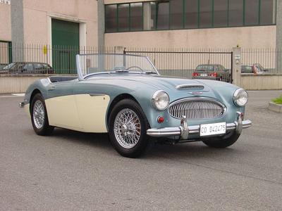 www.BRESCIACAR.it -AUSTIN HEALEY 3000 MK2 anno 1961