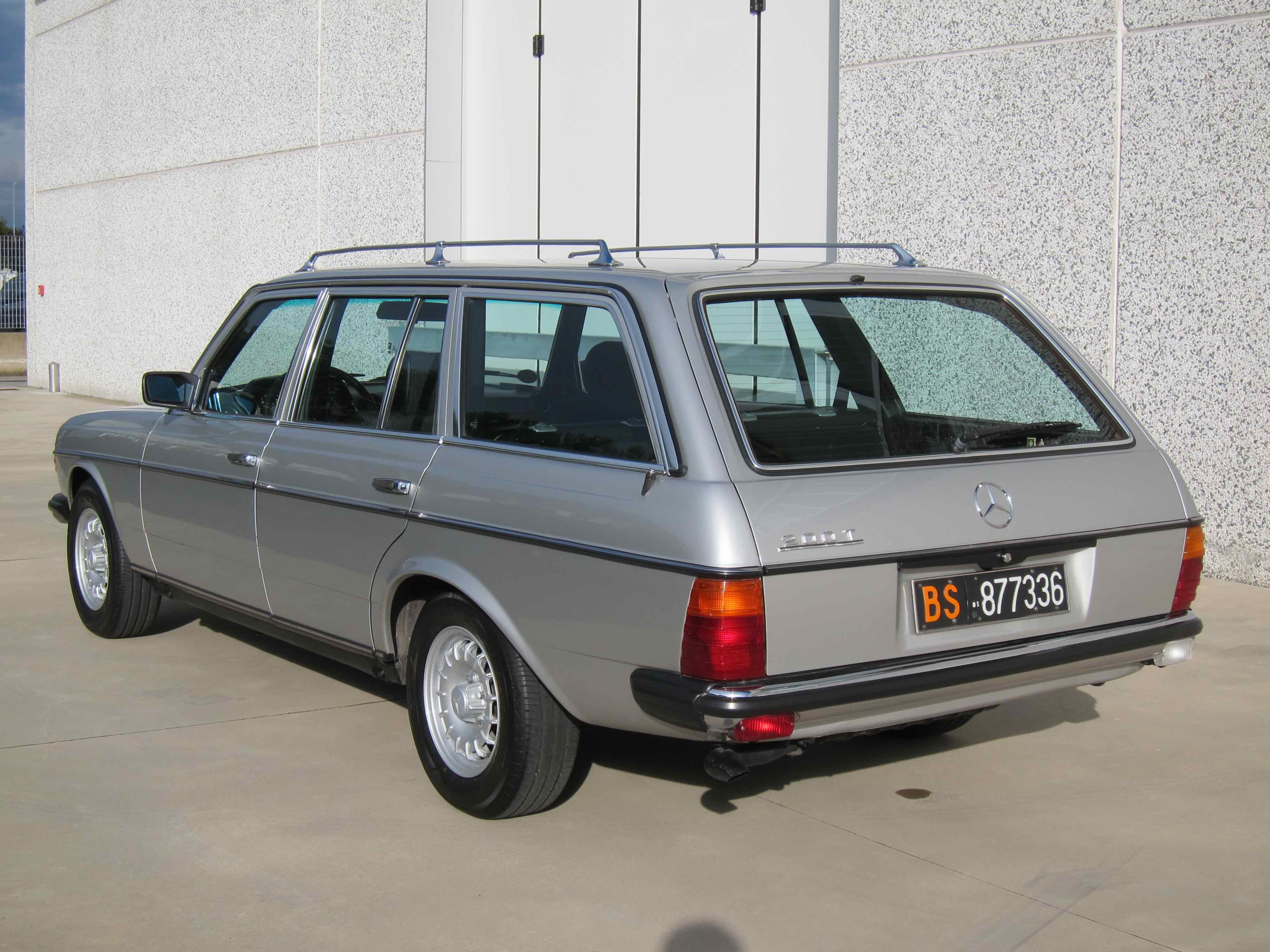 www.BRESCIACAR.it -MERCEDES-BENZ 200 T anno 1984