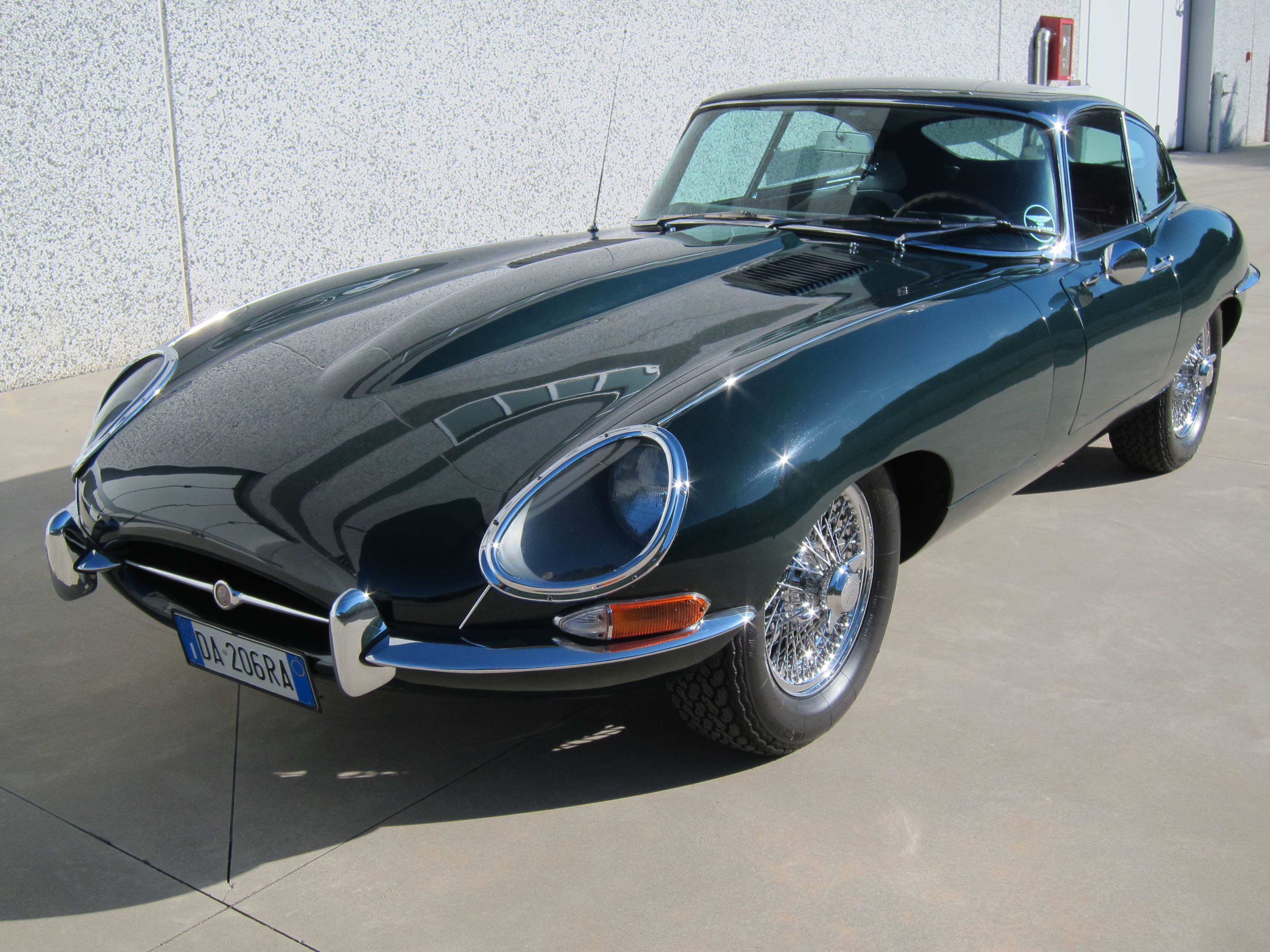 www.BRESCIACAR.it -JAGUAR E-TYPE COUPE` anno 1964