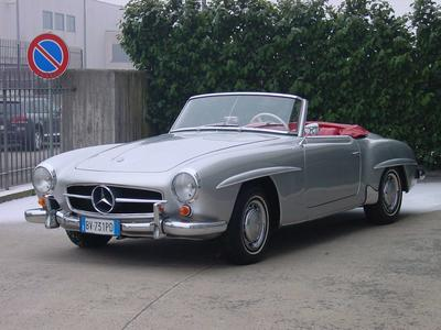 www.BRESCIACAR.it -MERCEDES 190 SL anno 1963