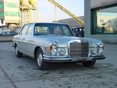 www.BRESCIACAR.it -MERCEDES 300 SEL 6.3 anno 1971